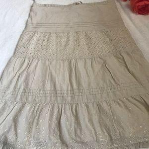 Banana Republic long skirt
